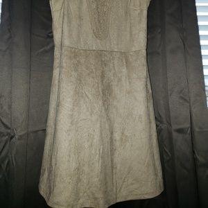Rue21 Dresses - Suede feeling Tan Dress